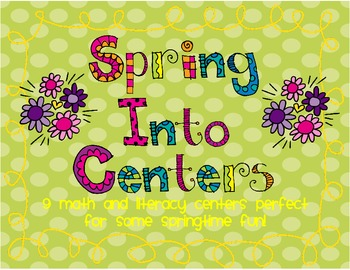 Spring Inspired Centers!
