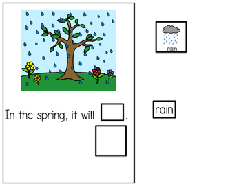 Spring - Interactive Adapted Book