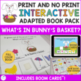 Spring Interactive Book - What's in Bunny's Basket?