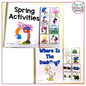 Spring Interactive Books