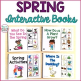Spring Interactive Books (Adapted Books For Special Education & Speech Therapy)