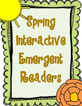 Spring Interactive Emergent Readers