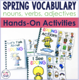 Spring Interactive Vocabulary Activities