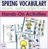 Spring Interactive Vocabulary Activities