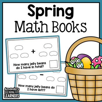 Spring Math Books - Addition and Subtraction