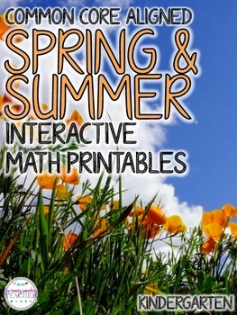 Spring & Summer Interactive Math Printables