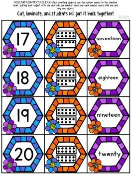 Spring & Summer Interactive Math Printables