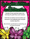 Spring Into Addition and Subtraction (Whole Numbers and Decimals) (TEKS 4.4A)