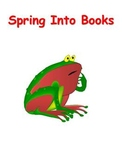Spring Into Books Bulletin Board