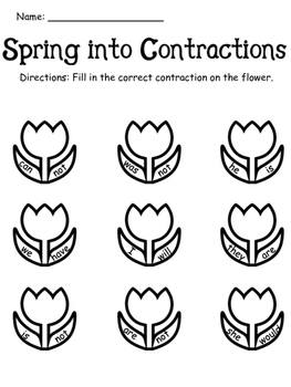 Spring Into Contractions