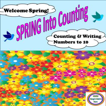 #bestof2017 Spring Into Counting and Writing Numbers to 10
