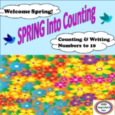 Spring Into Counting and Writing Numbers to 10