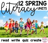 Spring Reading / Fluency with Coordinating Writing and Art