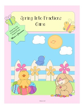 Spring Into Fractions Game