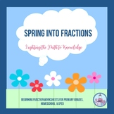 Spring Into Fractions Primary Grades 2-5, Special Ed. & Ho