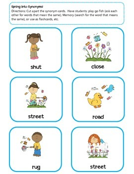 Spring Into Language ~ Super Packet!