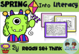 K Spring Into Literacy (CVC, Digraphs, Word Families, & more)