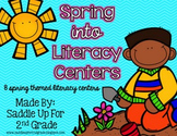 Spring Into Literacy Centers