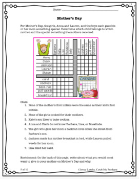 Logic Puzzles for Spring
