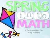 Spring Into Math! {A Spring Themed Math Hunt}