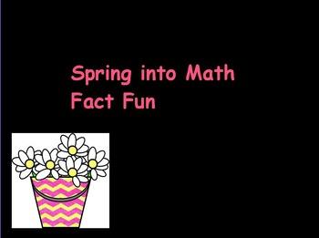 Spring Into Math Fact Fun