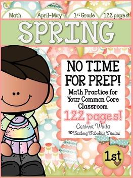 Spring Into Math: No Time For Prep Mega Pack!