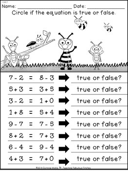 Spring Into Math: No Time For Prep Sampler!