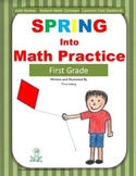 Math Morning Work Spring Into Math Practice  First Grade