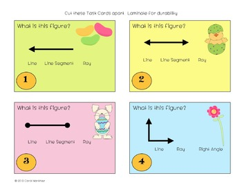Spring Into Math Task Cards