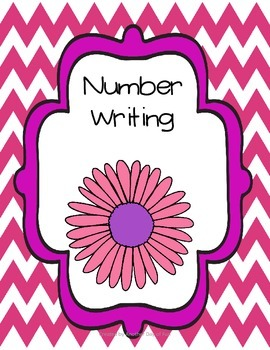Spring Into Math- number writing 0-20 mini unit