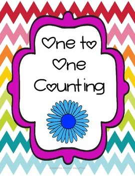 Spring Into Math- one-to-one counting mini unit