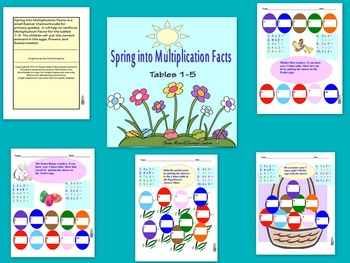 Spring Into Multiplication Facts 2-5