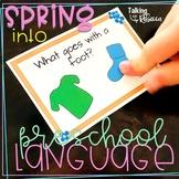 Spring Receptive and Expressive Preschool Language