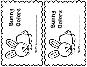 Bunny Shamrock and Spring  Emergent Reader Three Pack