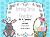 Spring Into Reading Literacy Centers