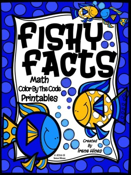 Fishy Facts ~ Color By The Code Math Puzzle Printables~Addition & Subtraction