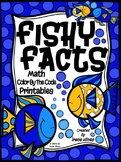 Fishy Facts ~ Color By The Code Math Puzzle Printables~Add
