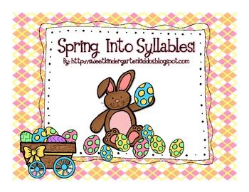 Spring Into Syllables Game!