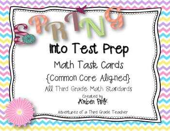 Spring Into Test Prep {All Third Grade Common Core Standards}