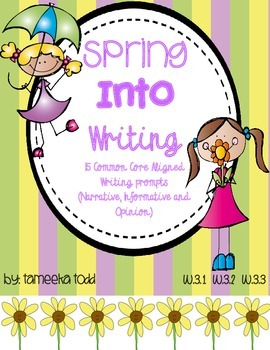 Spring Into Writing!