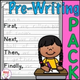 Spring Into Writing - EDITABLE for ESL Graphic Organizers, Webs, and Outlines