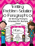 Spring Into Writing: Problem-Solution Prompts