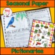 Spring Into Writing - Spring Edition - Journal, Prompts, Paper, Page Toppers