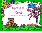 "Spring Is Here! - A ""Sol-Mi"" Song About Spring - (PDF Edition)"