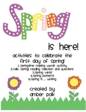 Spring Is Here! {FREEBIE}