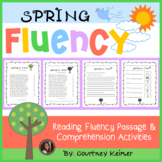 Spring Is Here Fluency Passage and Comprehension Questions