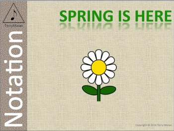 Spring Is Here - Notation Pack