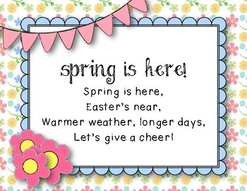 """Spring Is Here - Song to teach """"re"""" (""""Hot Cross Buns"""" Melody)"""