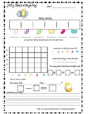 Spring Jelly Bean Easter candy Graphing Common Core skills