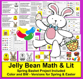 Easter Craft & Jelly Bean Math {Includes a Spring Version, too!}